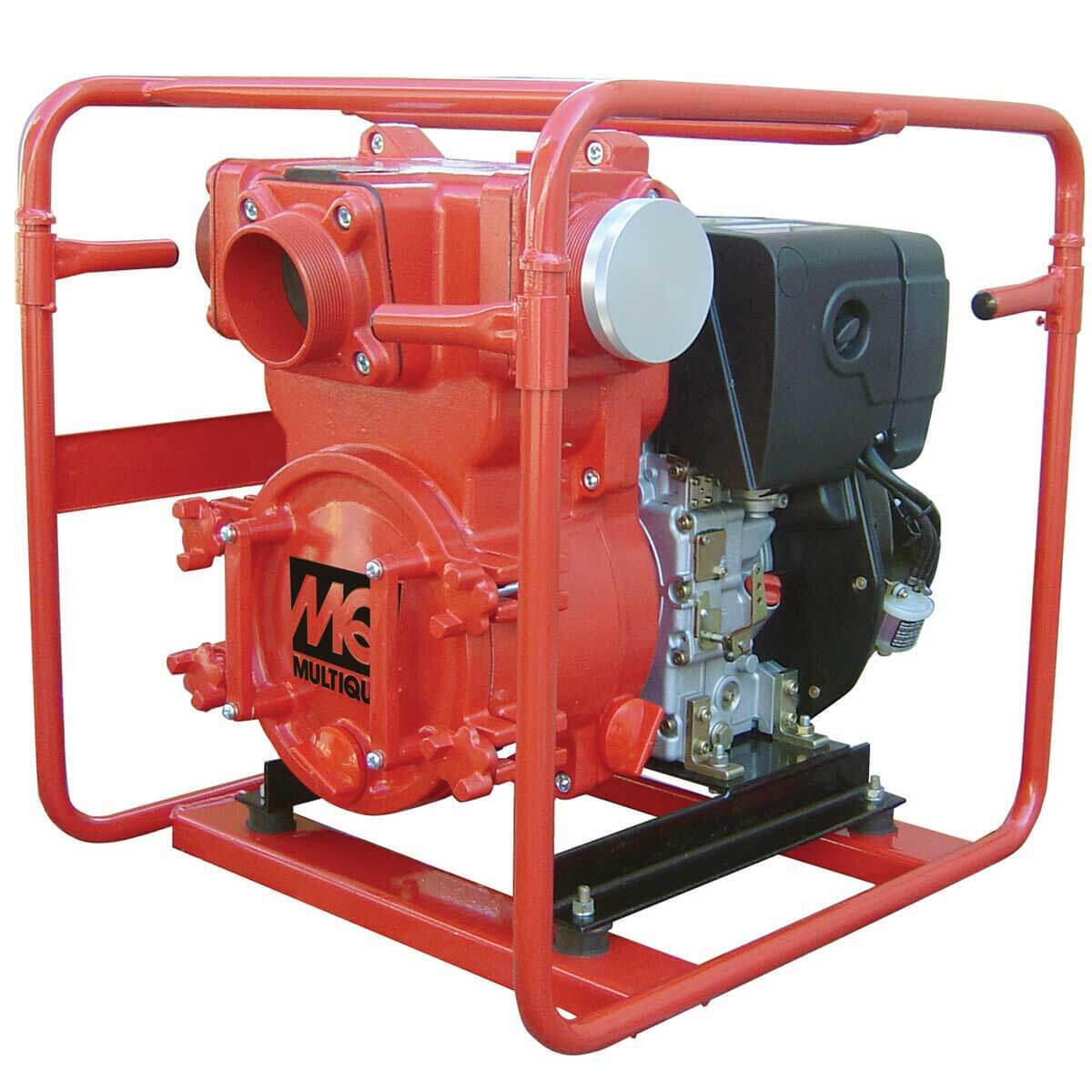 Multiquip QP4TZ Diesel Powered Trash Pumps