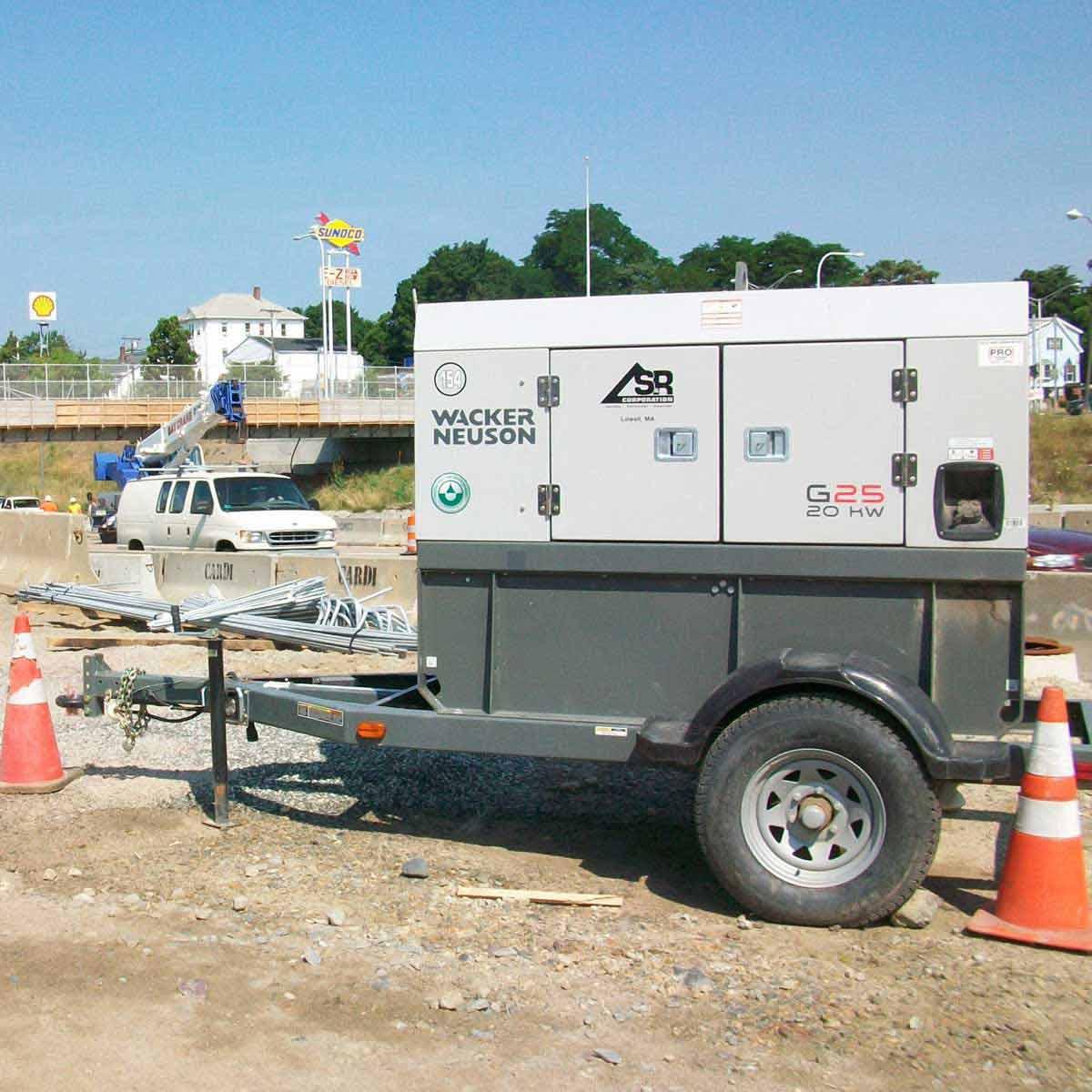 Wacker Neuson G25 20 kW Job Site Generator
