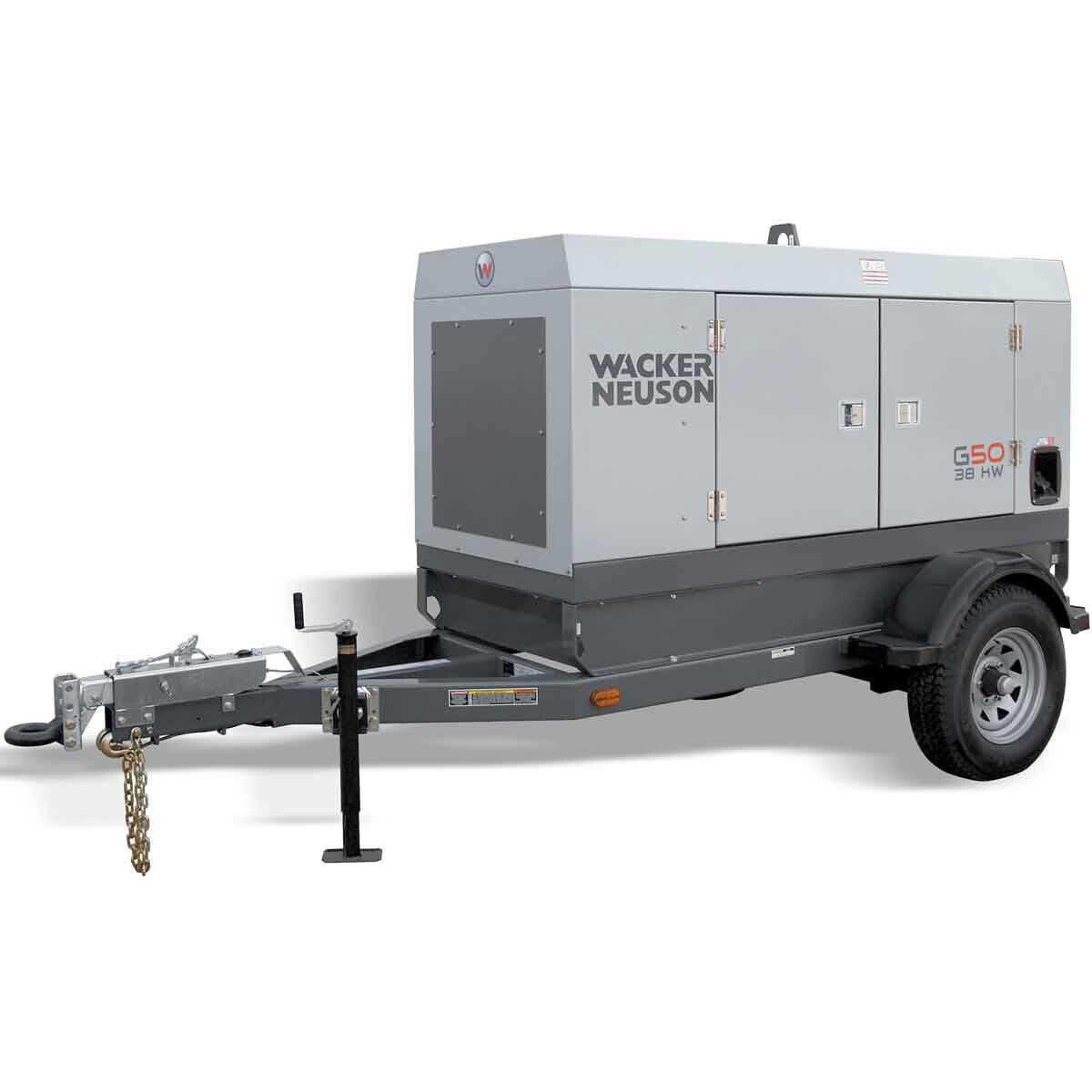 Wacker G 50 Mobile Generator John Deere