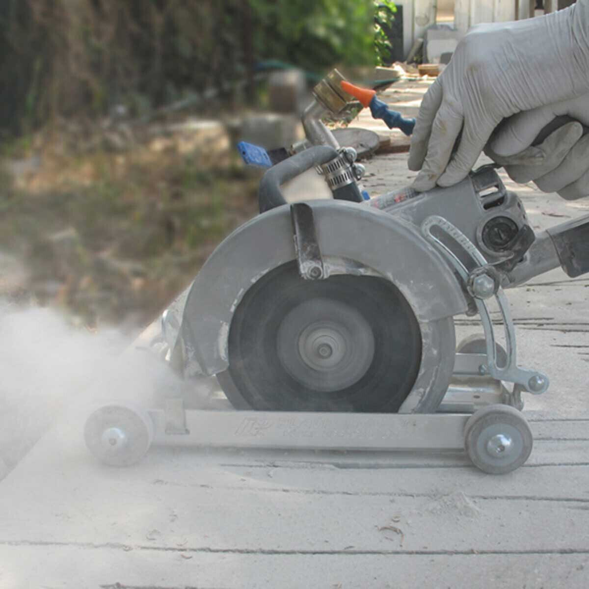 Dry Cutting Without SawVac Attachment