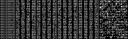 Reference to the malicious Xjs.dll file, which is loaded and executed by the main executable
