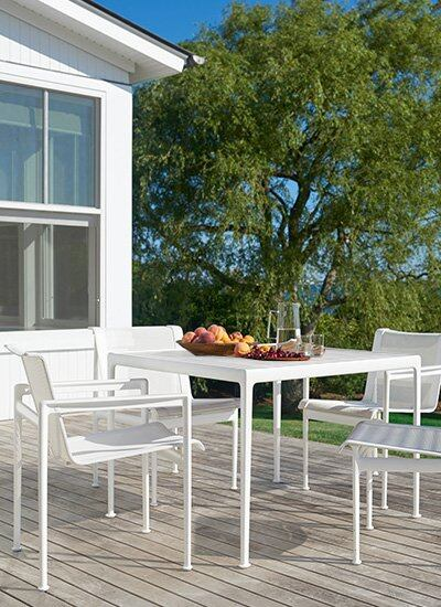 Knoll Outdoor Furniture Browse, Patio Furniture Dining Sets Clearance