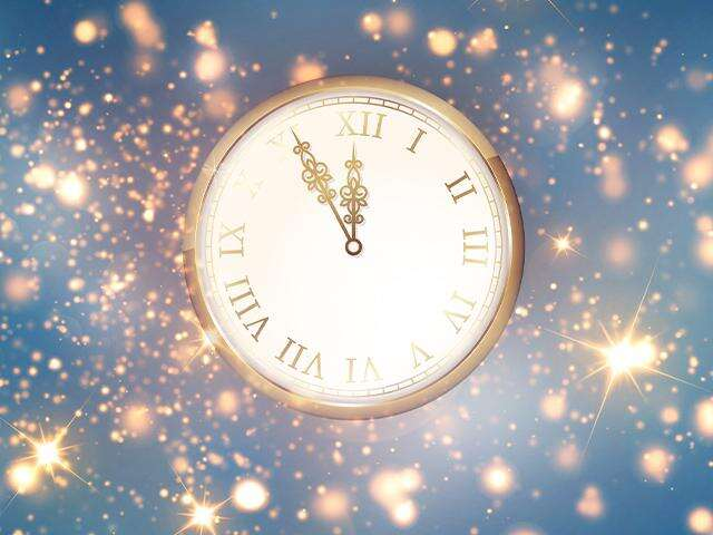 clock face shows almost 12 o