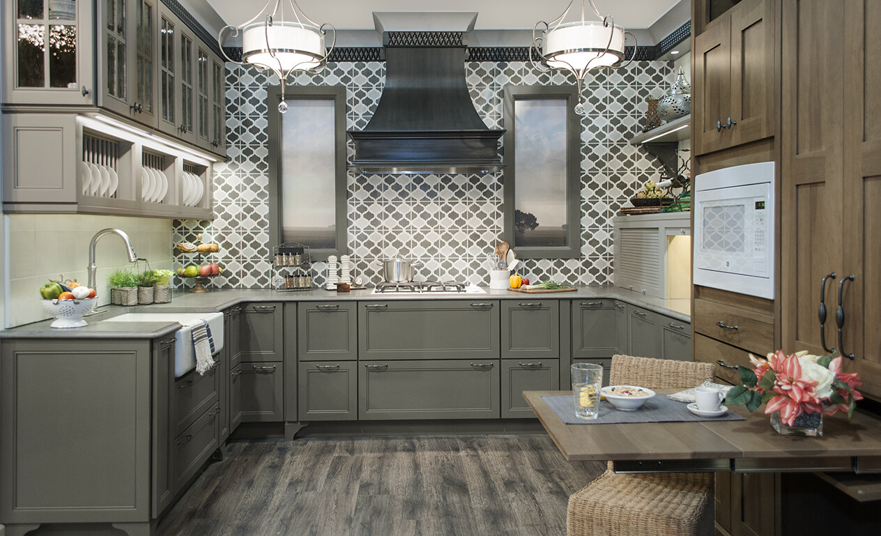Custom And Semi Custom Kitchen Cabinet Wellborn Cabinet