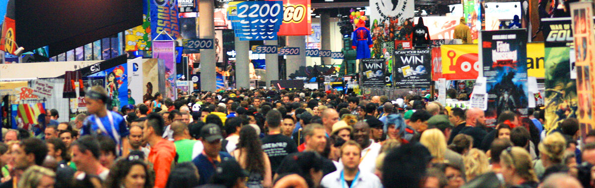 Large crowd at San Diego Comic-Con