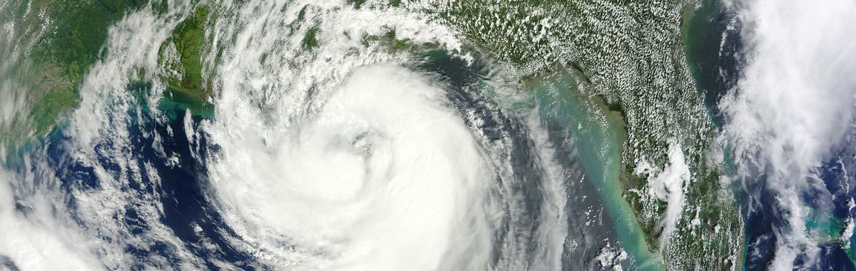 hurricane sattelite photo