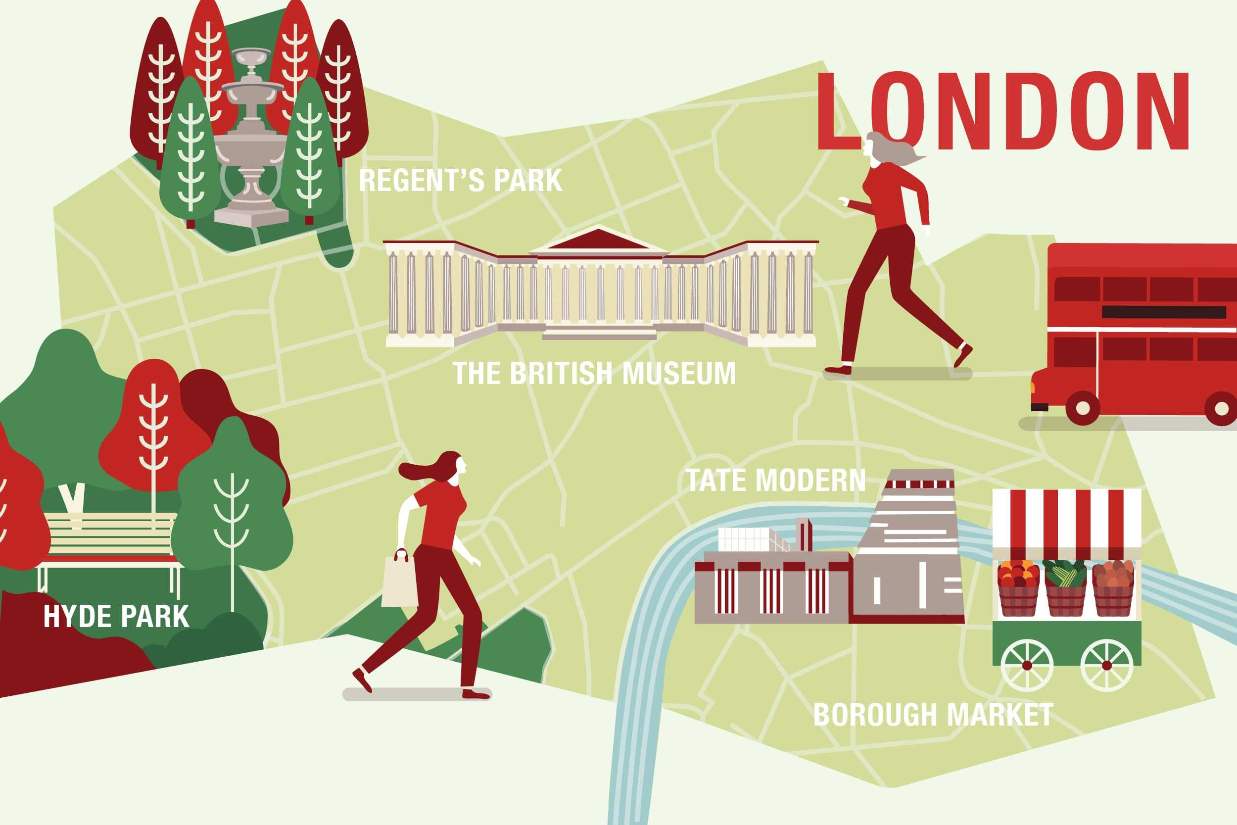 things to do for free London infographic