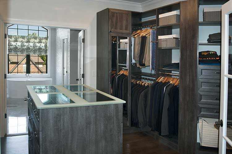 Walk Through Closet To Bathroom
