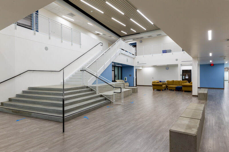Gym in the Innovations Academy