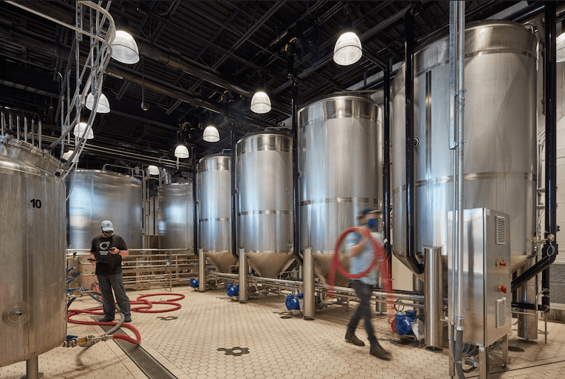 Omega Yeast production facilities