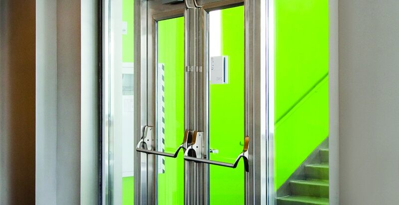 Fire Rated Doors Standards Testing And Glazing Requirements Building Design Construction