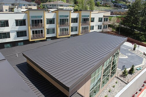 Are Metal Panels An Ideal Low Slope Roofing Material Building Design Construction