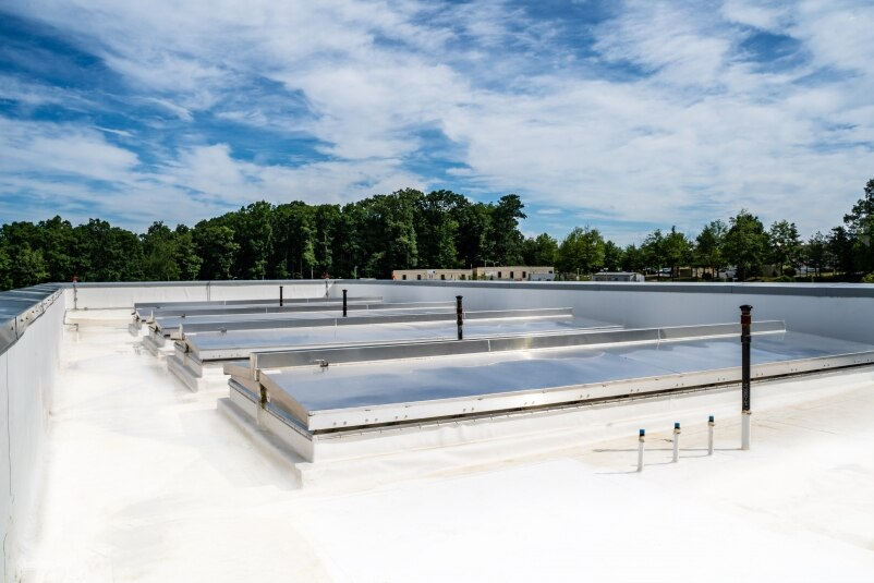 Bilco Roof Hatches Provide Unique Access At New Maryland Hospital Building Design Construction