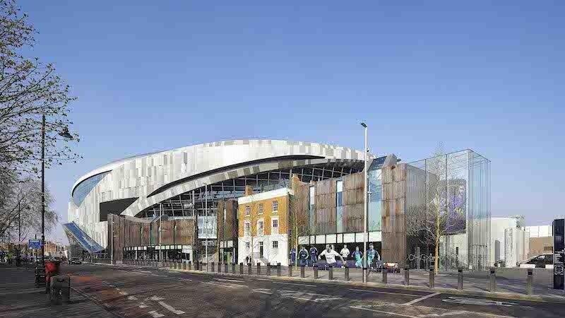 Tottenham Hotspur Stadium Has Its Own Brewery Europe S Longest Bar Building Design Construction