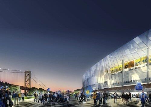 First Look Golden State Warriors Stadium By Snohetta Aecom Building Design Construction