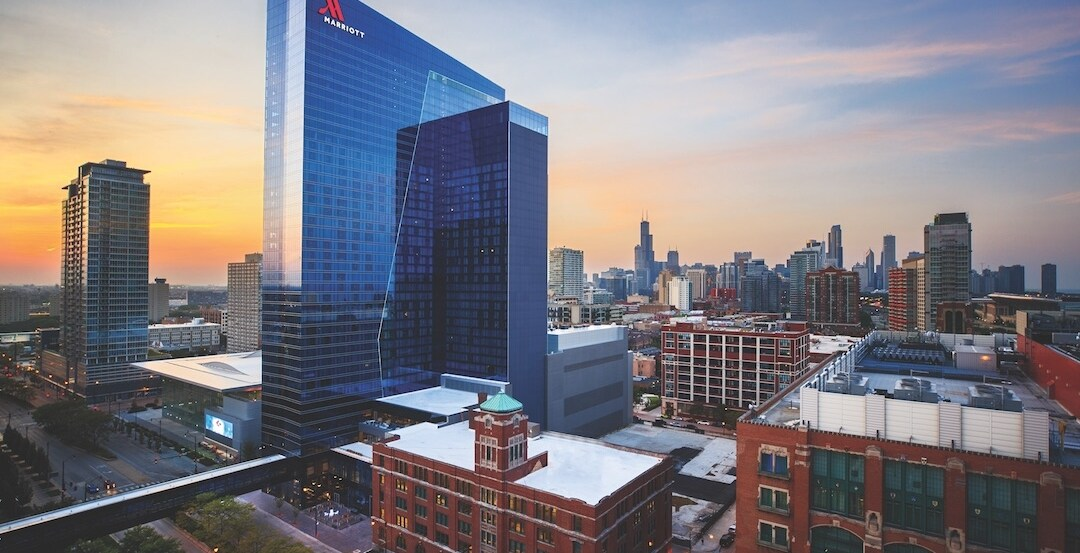 Dream Delivered Mccormick Square Marriott Marquis And Wintrust Arena Building Design Construction