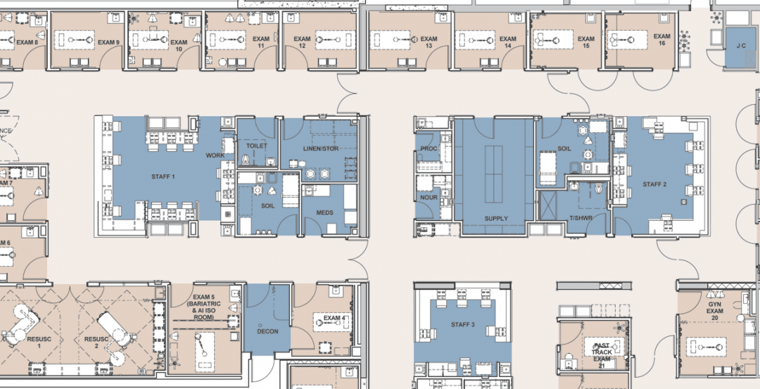 Shepley Bulfinch Develops Elegant Design Solution To Address Behavioral Issues In Emergency Departments Building Design Construction