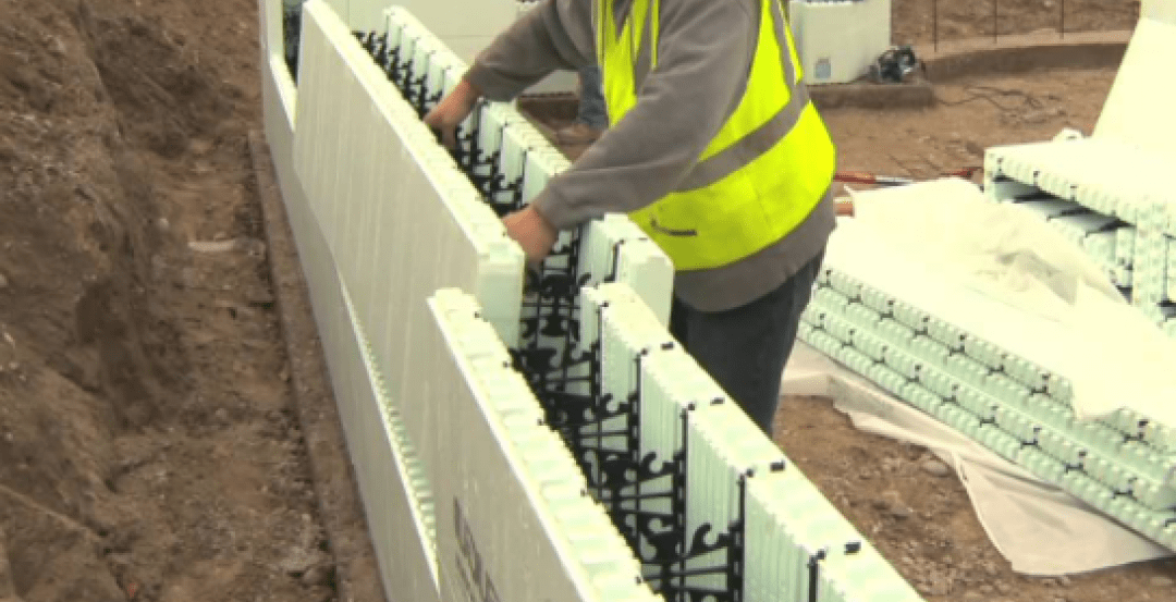 Tall Icf Walls 9 Building Tips From, How To Build Icf Basement