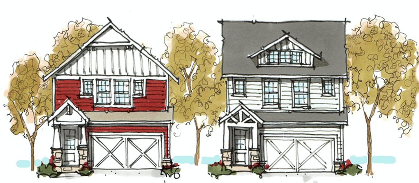 House Design One Plan Multiple Elevations Pro Builder