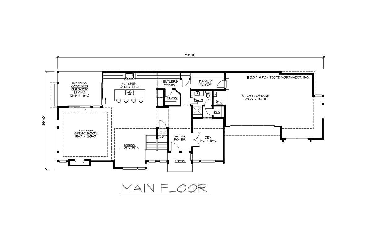 House plans for narrow lots