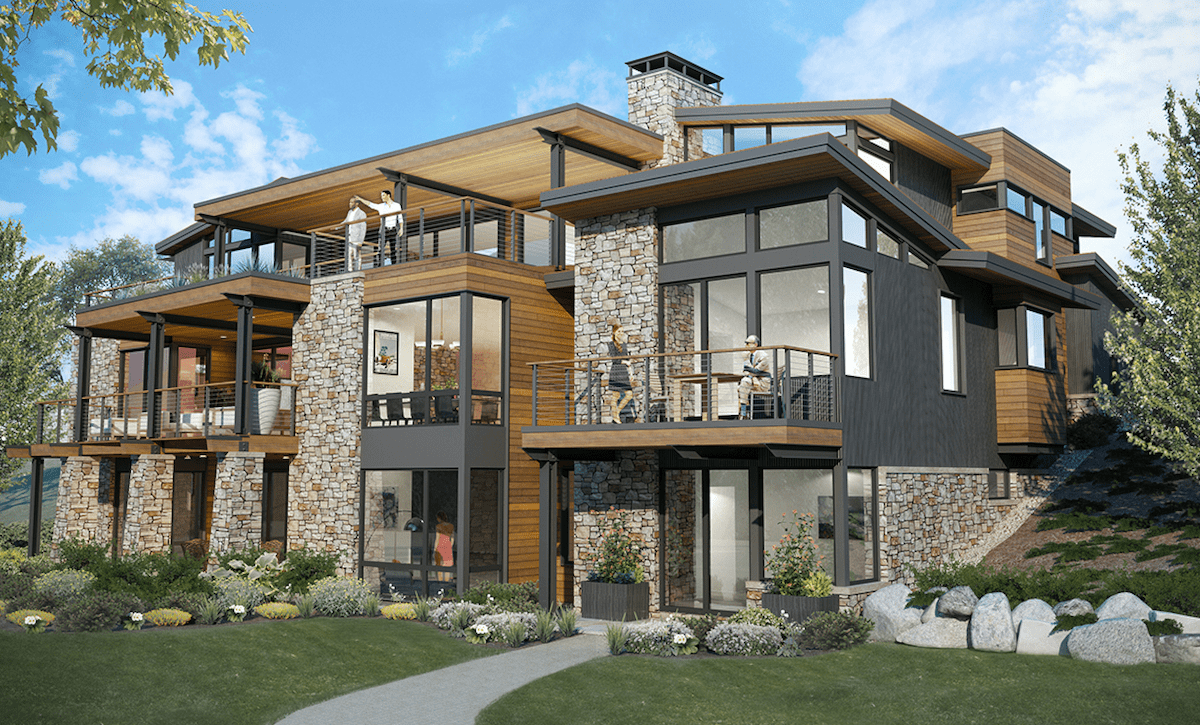 On The Boards 4 Home Designs Offering A Variety Of Looks Lifestyles Professional Builder