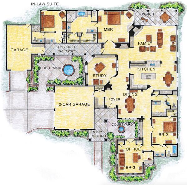 Home Designs For Multigenerational Living Professional Builder