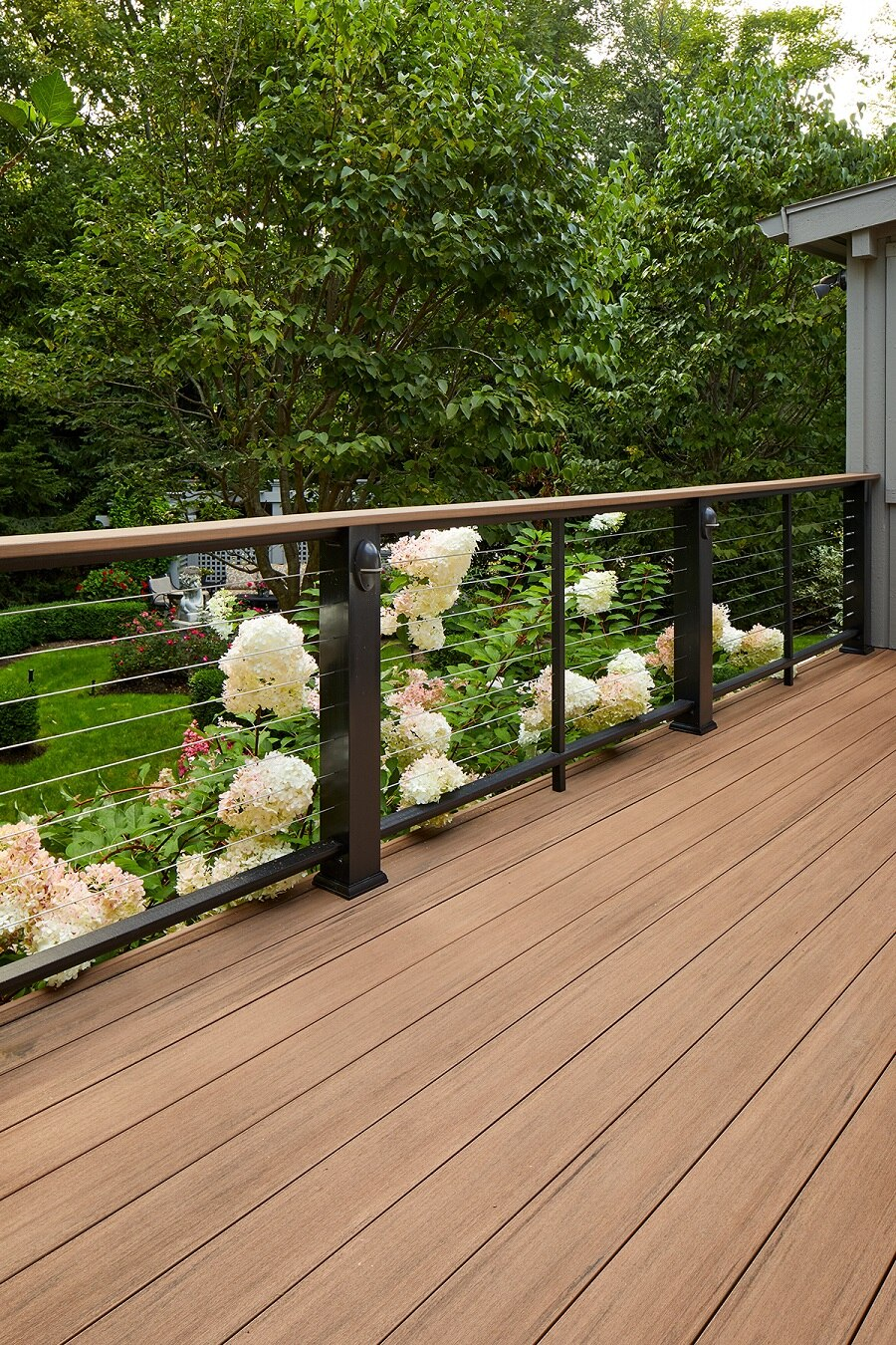 TimberTech English Walnut Deck