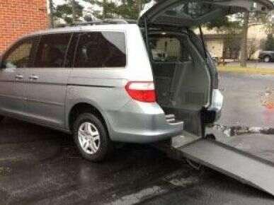 Wheelchair Van Used 2007 Honda Odyssey 7b135195a