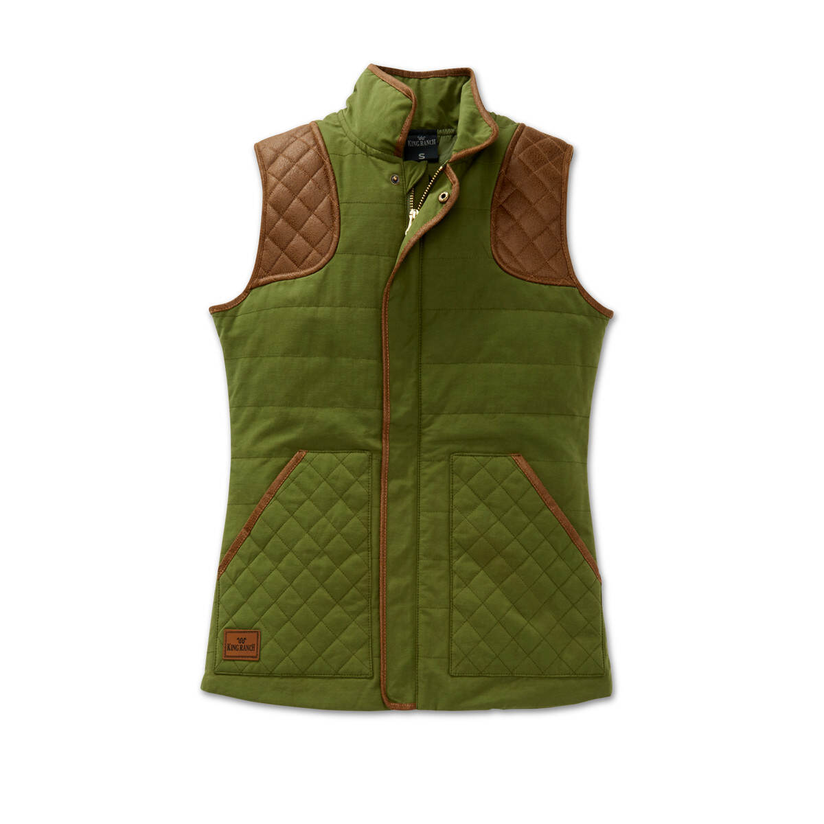 QUILTED SHOOTING VEST