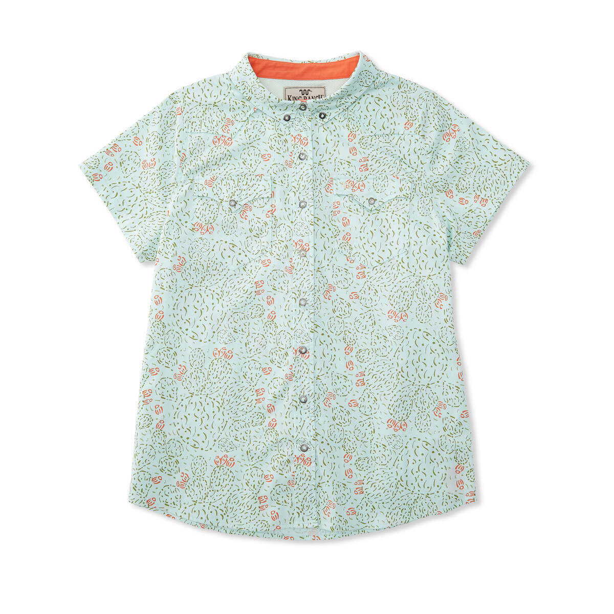 WOMEN'S S/S PRICKLY PEAR WESTERN PEARL SNAP SHIRT