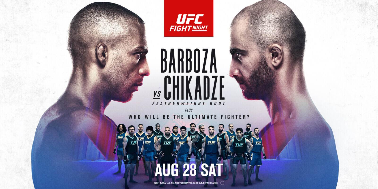 UFC Fight Night: Barboza vs Chikadze | Monster Energy
