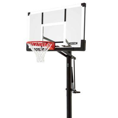 Lifetime Adjustable In Ground, In Ground Basketball