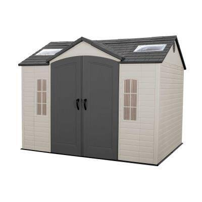 Lifetime 10 Ft X 8 Ft Outdoor Storage Shed