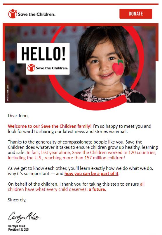 nonprofit email marketing