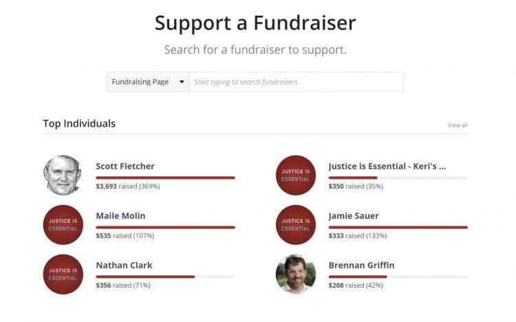texas appleseed campaign fundraiser section