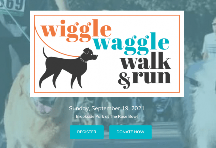 pasadena humane fall registration with fundraising campaign page