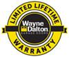garage door warranty seal