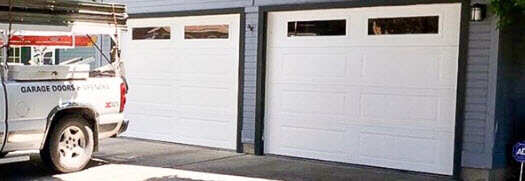 After garage door transformation