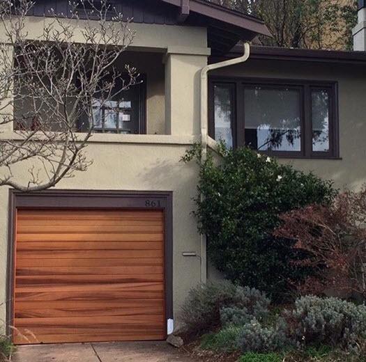 After garage transformation