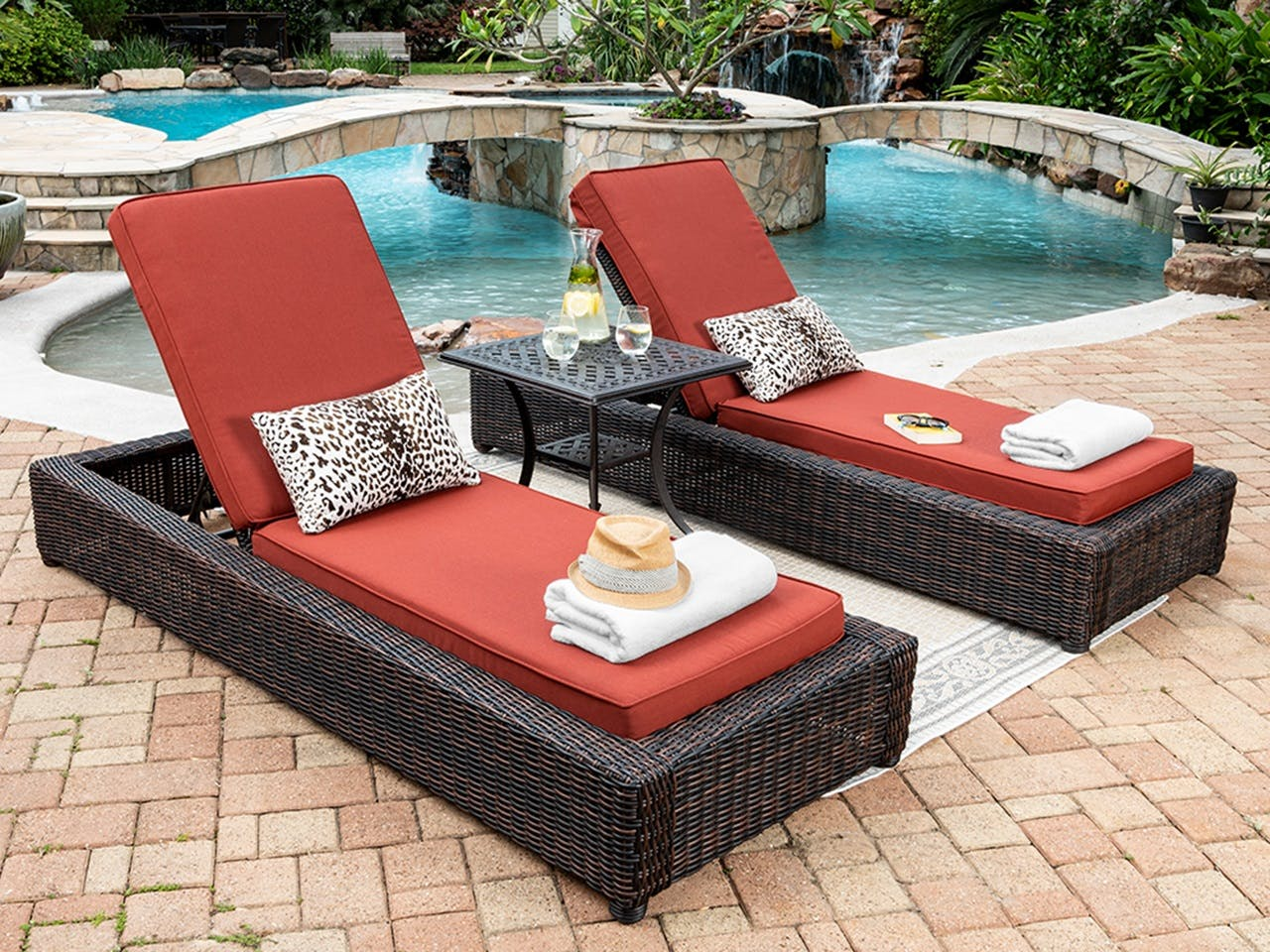 Outdoor Chaise Lounges Chair King Backyard Store