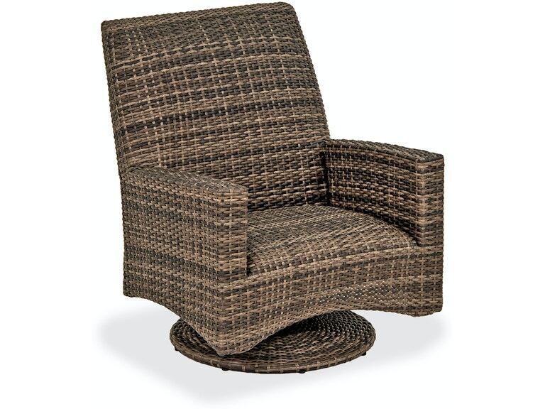 Sydney Husk Outdoor Wicker, Outdoor Patio Furniture With Swivel Rocker Chairs