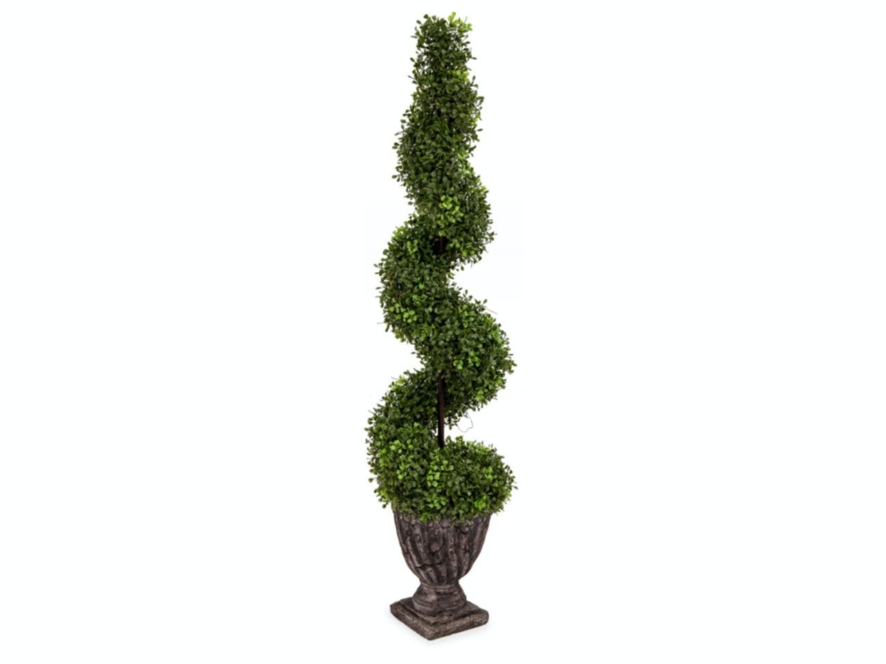 Buxus Pyramid Height 4 feet. Artificial Topiary