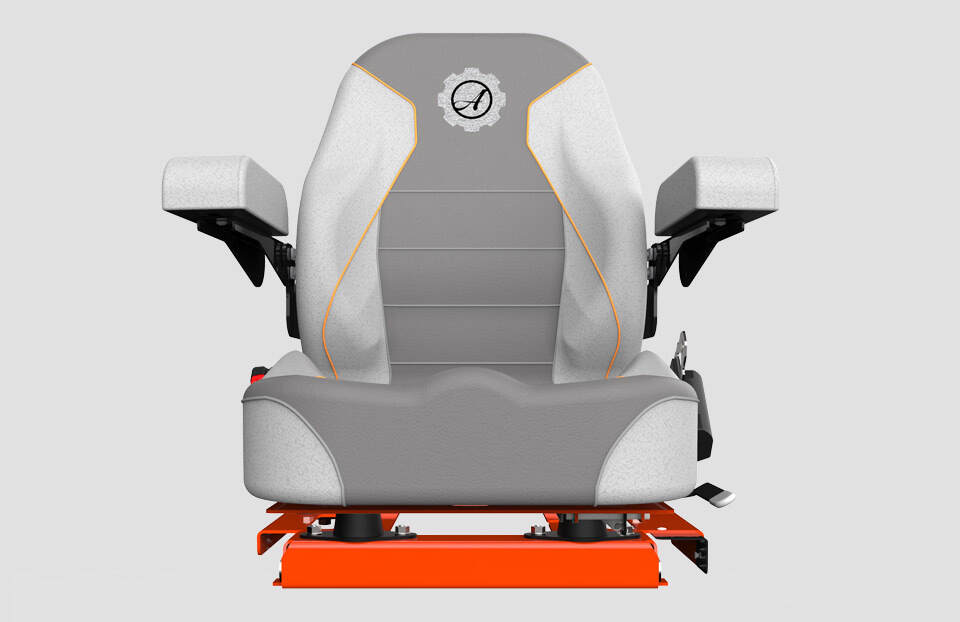 Padded Seat and Armrests