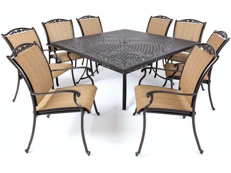 Bellagio Desert Bronze Cast Aluminum, Bellagio Furniture Collection