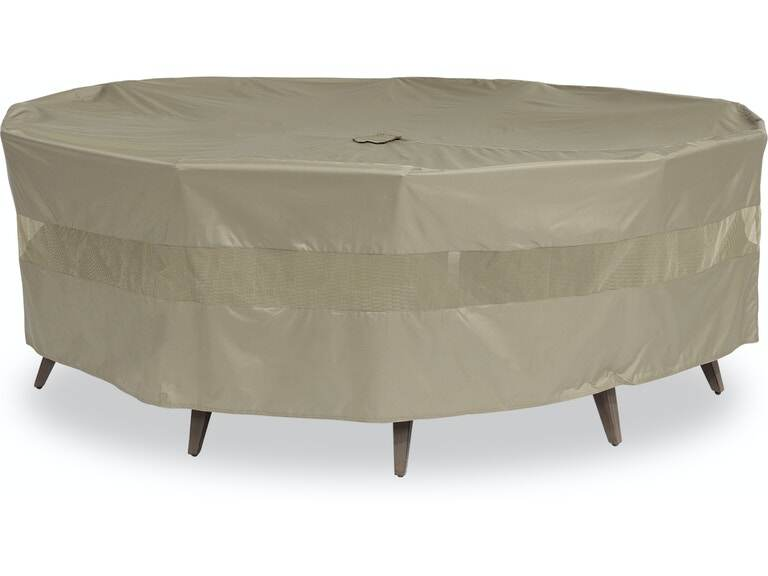 Outdoor Patio 100 In Octagonal Dining Set Protective Cover 5129299 Fortunoff Backyard Store