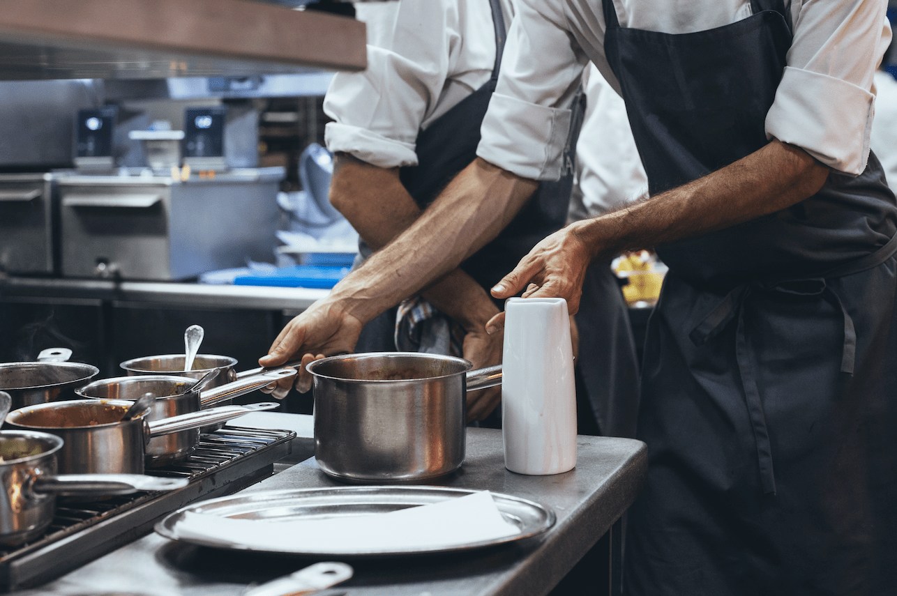 Kitchen Staff and Chef