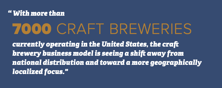 7000 Craft Brewers in US
