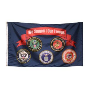 Support Our Troops Flags Carrot Top Industries