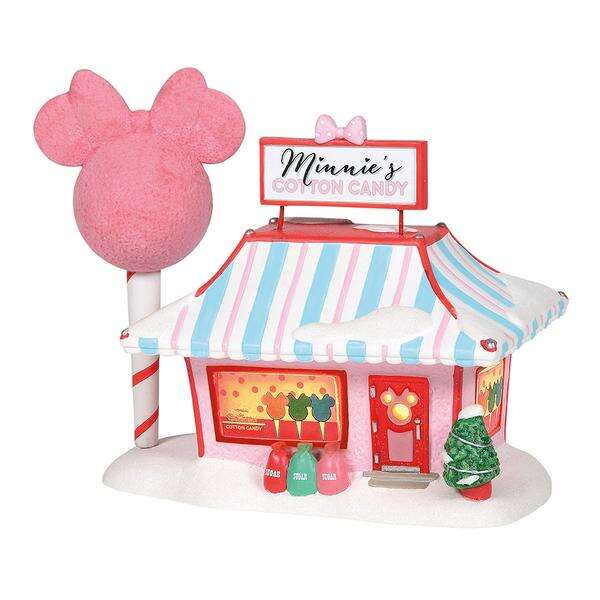 NEW Department 56 Christmas Disney Village Minnie/'s Lighted House 4038631