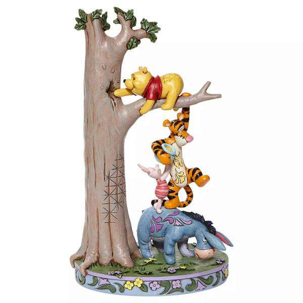 Enesco Disney Traditions by Jim Shore Winnie The Pooh and Piglet Easter Figurine